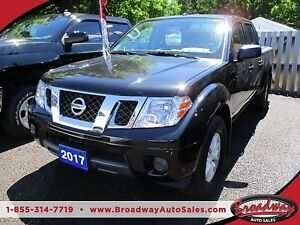 2017 Nissan Frontier POWER EQUIPPED SV MODEL 5 PASSENGER 4.0L -