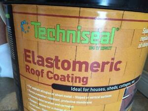 Two Unopened Pails of Elastomeric Roof Coating - Clarenville
