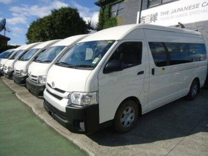 2014 Toyota Hiace TRH223R MY14 Commuter White 4 Speed Automatic Bus
