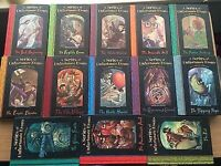 Full set 13 LEMONY SNICKET books A Series of Unfortunate Events - Very Good Condition