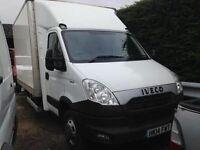 2014 14REG FORD IVECO DAILY , 50C15 150 BHP LARGE BOX VAN WITH TAIL LIFT 3.0LITRE TD TURBO Diesel