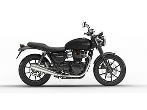 2018 Triumph  Street Twin Matt Black