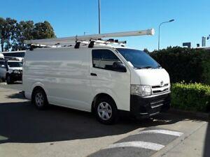2010 Toyota Hiace KDH201R MY11 LWB White 5 Speed Manual Van Acacia Ridge Brisbane South West Preview