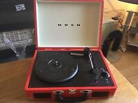 Red BUSH Classic turntable!