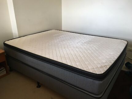 Queen size mattress & bed base for sale