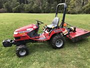 MASSEY FERGUSON GC2300 4WD COMPACT TRACTOR Monbulk Yarra Ranges Preview
