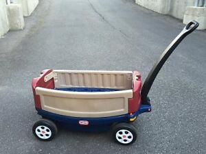 Little Tikes large ride and relax wagon