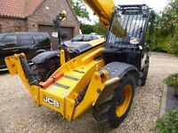 12m JCB telehandler for hire £90 per day