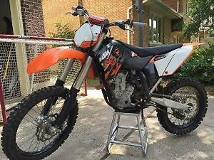 2010 KTM SX-f 450 in mint condition with ownership