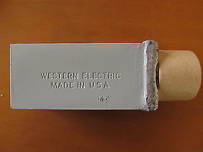 Western Electric Paper In Oil Capacitors 2mf 250vdc Nos Boxed 2pcs