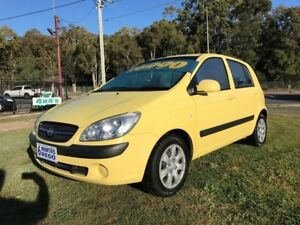 2010 Hyundai Getz TB MY09 SX 4 Speed Automatic Hatchback Clontarf Redcliffe Area Preview