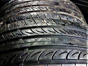EN-FR: 2x Tires Nexen N5000 205 55 16 80% good, Quality tires