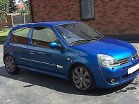 Renault Clio 182 Sport................. P/X or Swap?? Sensible offers................