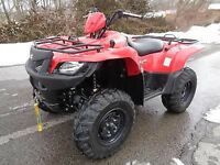 FS/FT - 2012 Suzuki 500 King Quad Power Steering