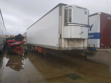 Tri axle refrigeration trailer Belgrave Yarra Ranges Preview