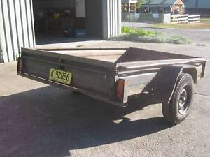 BOX TRAILER 8/5 low side unregistered Warnervale Wyong Area Preview