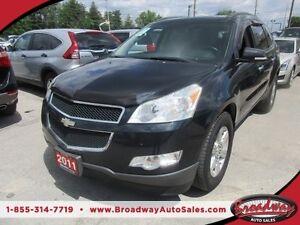 2011 Chevrolet Traverse FAMILY MOVING LT MODEL 7 PASSENGER 3.6L