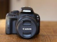 Canon EOS100D with accessories