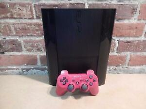 Playstation 3 Super Slim 500GB + Manette rouge SONY / Model CECH-4301C (i017990)