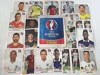 Euro 2016 panini stickers 85 spares in foil - list of stickers below £5 the lot