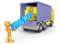 24/7 MAN AND LUTON VAN REMOVAL DELIVERY SERVICE MOVING TRUCK MOVERS DRIVER HIRE WITH A BIKE RECOVERY
