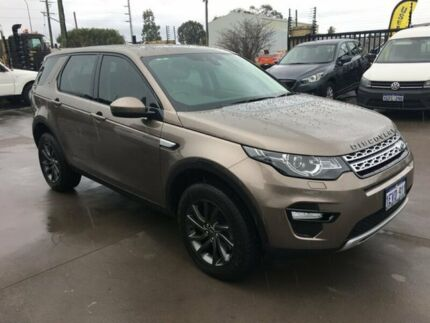2015 Land Rover Discovery Sport LC SD4 HSE Kaikoura Stone 9 Speed Automatic Wagon Welshpool Canning Area Preview