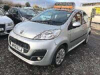 Peugeot 107 1.0 12v ( 68bhp ) 2012.25MY Active,3 month warranty,road tax free