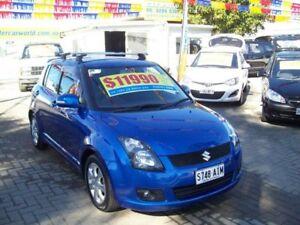 2010 Suzuki Swift EZ MY07 Update RE.4 Torque Blue 5 Speed Manual Hatchback