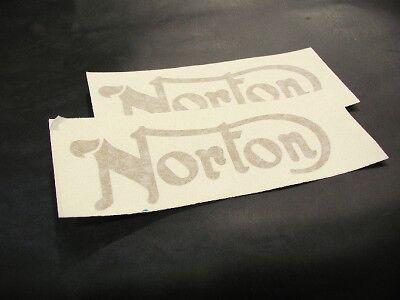 Norton Tank Decals     Gold