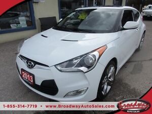 2013 Hyundai Veloster LOADED 6-SPEED MANUAL 4 PASSENGER 1.6L - D