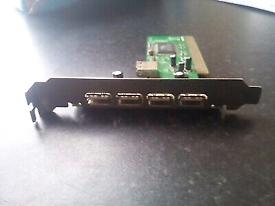 480 Mbps USBx4 PCI E Card