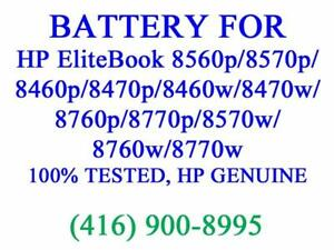 Genuine HP 6-Cell Battery for EliteBook 8560p/8570p/8460p/8470p/8460w/8470w/8760p/8770p/8570w/8760w/8770w