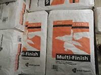 Multifinish Plaster 25 KG (Buy 10+ For COLLECTION ONLY...£5.60)
