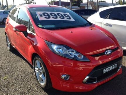 2011 Ford Fiesta WT Zetec Red 6 Speed Automatic Hatchback