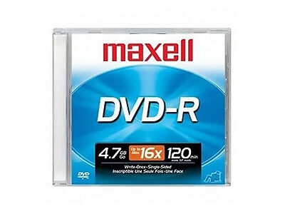 DVD-R Media with Cases