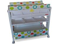 Baby changer changing unit