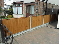 Premium Heavy Duty 6x3 Fence Panel