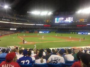 Section 119 Row 30 x 2 tickets CANADA DAY Tigers @ Jays