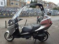 Benelli ADIVA AD200 SIMILAR TO BMW C1 Convertible Roof 2009 14k miles,