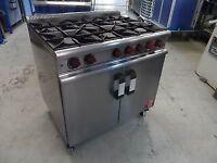 Moorwood Vulcan 6 burner gas range