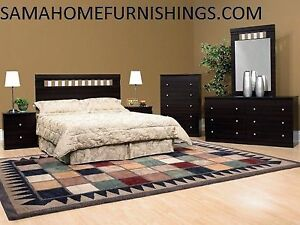New 6pcs bedroom set only $498 choice of colours we deliver save