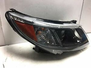 2008 TO 2011 SAAB XENON HEADLIGHT ASSEMBLY, DRIVER AND PASSENGER