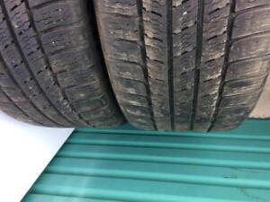 2x 255 50 19 Michelin Winter Tires Pneus D'hiver
