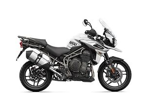 2018 Triumph Tiger 1200 XRX Crystal White
