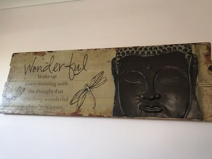 Large buddha wall art decor