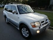 2004 Mitsubishi Pajero NP Exceed LWB (4x4) White 5 Speed Auto Sports Mode Wagon Chermside Brisbane North East Preview