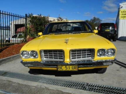 1971 Holden HQ Yellow Manual Tabletop