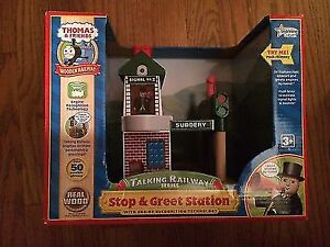 Stop & Greet Station for the Thomas & Friends Wooden Railway