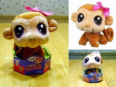 Bobble Head Plush - Littlest Pet Shop Bobble Head Plush Monkey NEW HTF