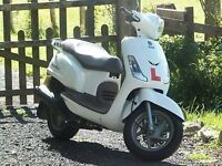 Scooter Sym Fiddle 125cc. As New. Excellent Condition.300 miles (470 km)
